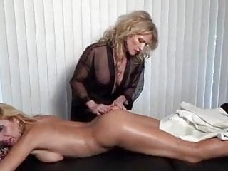 Two MILFs Massage and Cum Together lesbian mature squirting video